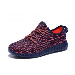 Zapatillas unisex Adidas Yeezy boost 350 rojo_045