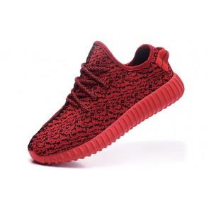 Zapatillas unisex Adidas Yeezy boost 350 rojo/negero_051