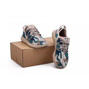 Zapatillas unisex Adidas Yeezy boost 350 gris/verde/negero_060