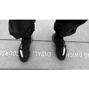 Zapatillas unisex Adidas Yeezy boost 350 V2 negero blanco_062