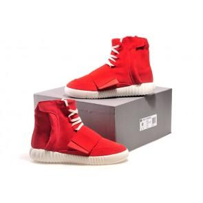Zapatillas para hombre Adidas Yeezy boost 750 rojo_067